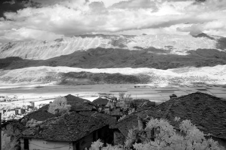 View from Gjirokastra