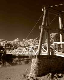 The iconic Swing Bridge