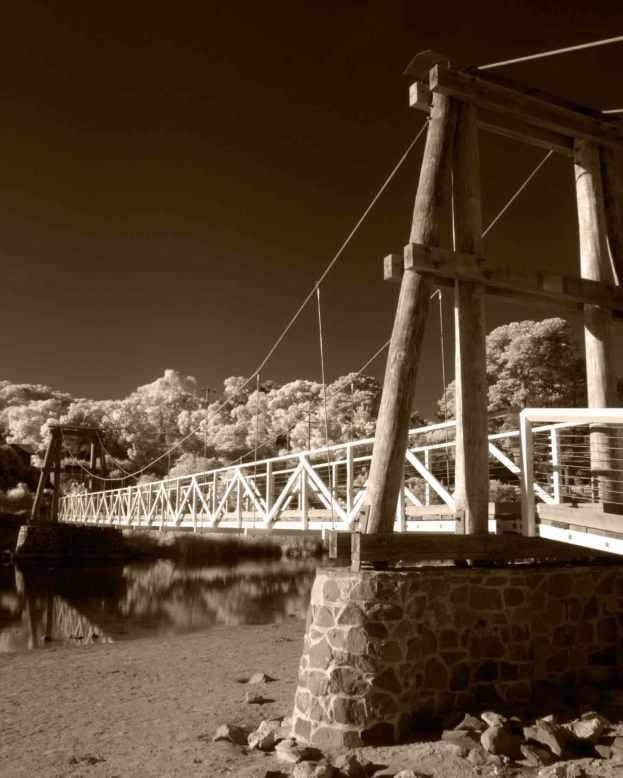 The iconic Swing Bridge